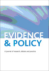 Evidence & Policy